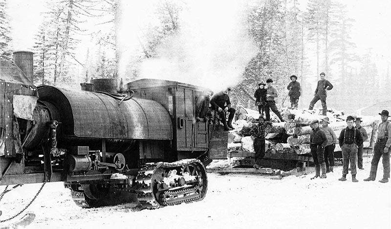 Adirondack Logging The Early Years Of Mechanization
