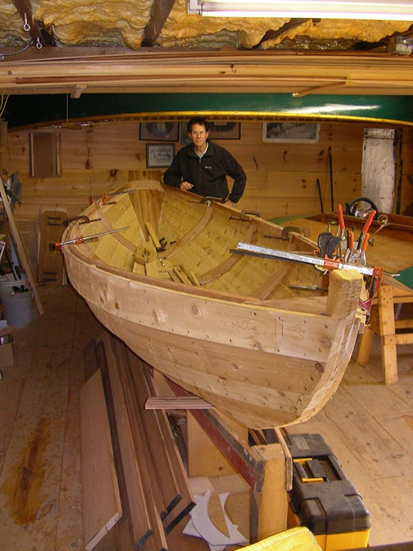The Nona Belle: Building a Dory With Local Wood | Articles