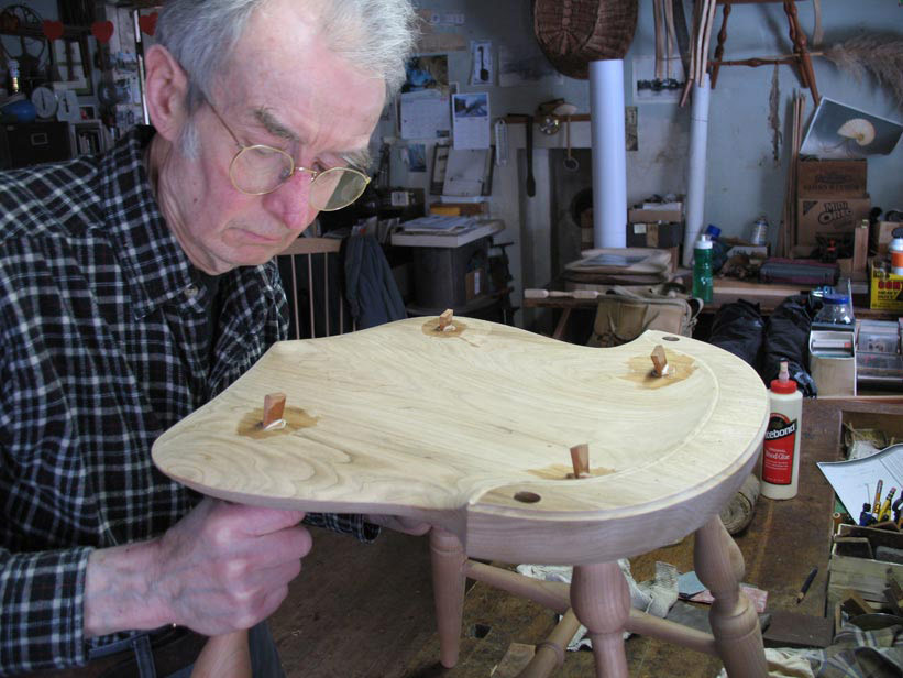 Rake And Splay How I Learned To Make A Windsor Chair