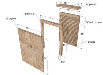 Bench table chair canadian bat house plans for How to make a bat house