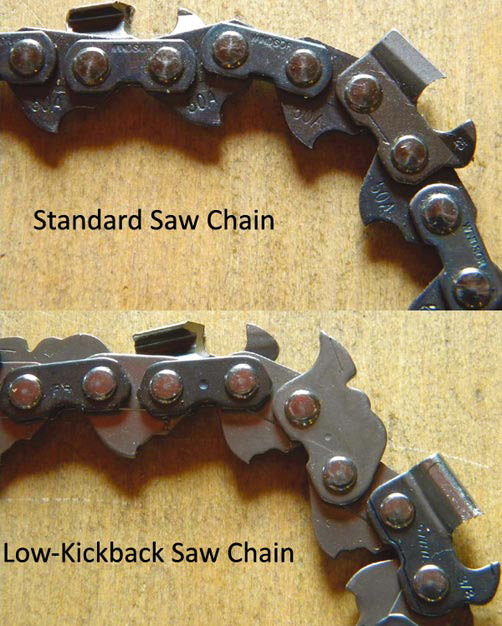 Some Chainsaw Chains Are