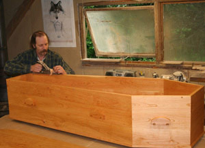 At Work Making Coffins with Richard Winter