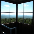 Glastenbury, Vermont fire tower, circa 2012. Photo: Northern Woodlands