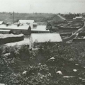 Wheelerville, New York tannery. Note bark sheds in foreground. Photo: The Adirondack Museum Collection