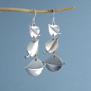 Pewter Aspen Earrings