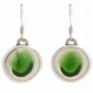 Green Pool Earrings
