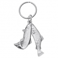 Trout Key Ring